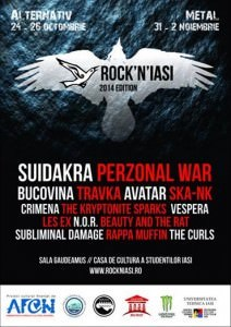 Mai sunt doar 5 zile până la Rock`N`Iași