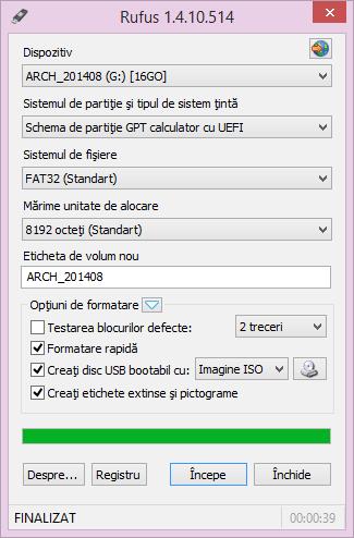 Cum să instalezi Windowsul de pe stick