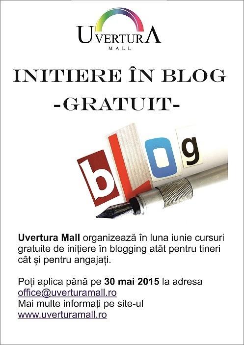 #înBotoșani: Cursuri de inițiere în blogging