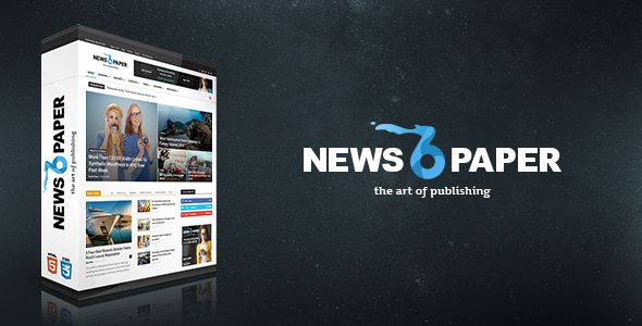newspaper tema wordpress site de stiri