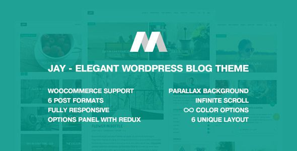 tema wordpress blog