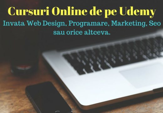 Cursuri online de la Udemy – ieftin și constructiv