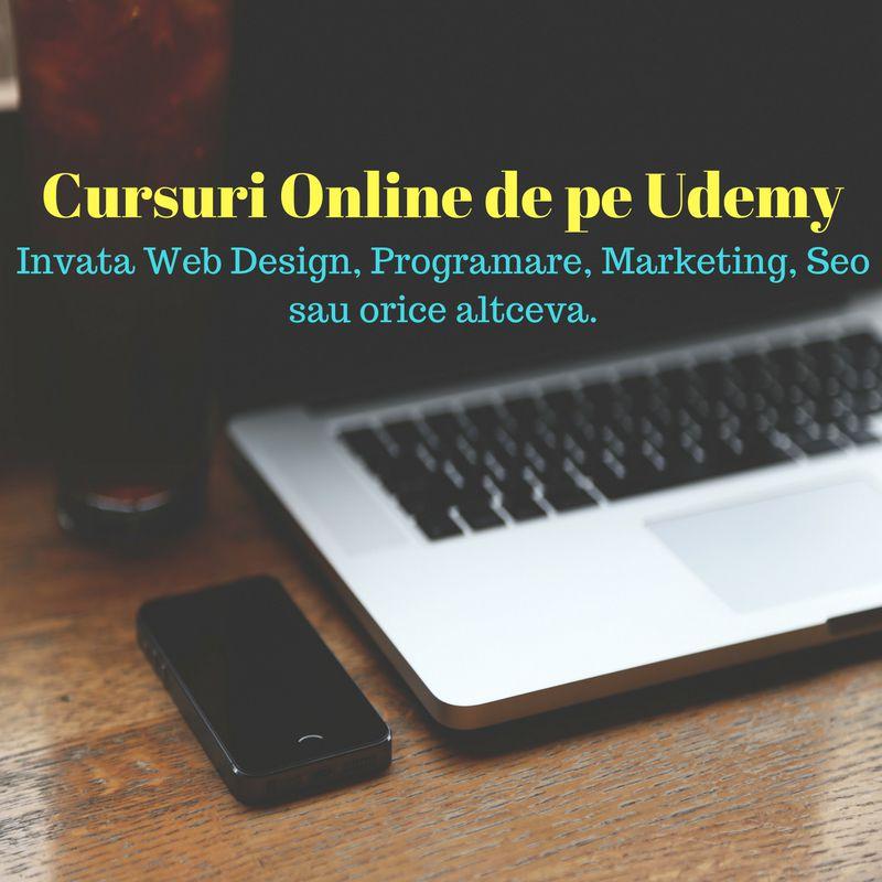 cursuri online de pe udemy