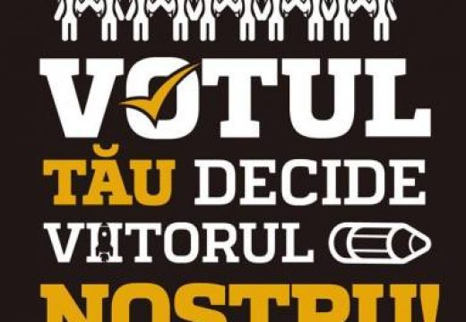 Dacă nu ieși la vot, mai rău faci!