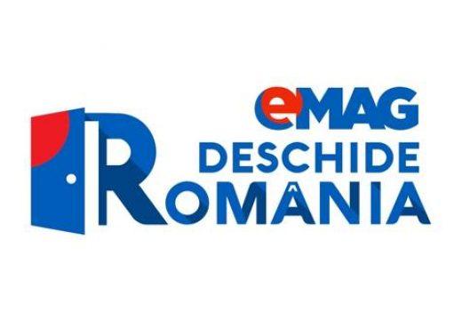 """eMag vine cu o inițiativă mișto: """"Deschide România"""""""