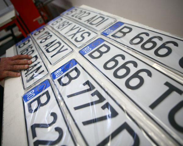 Transcrierea unei mașini deja înmatriculate, după eliminarea timbrului de mediu