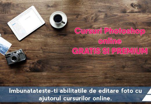 Cursuri de Photoshop online gratis și premium