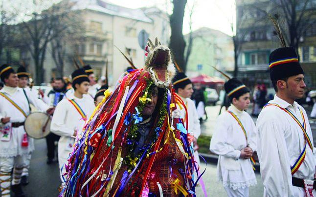 traditie romania capra